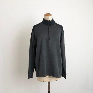 Nike Golf dark gray sweater dri fit sz:L athlete